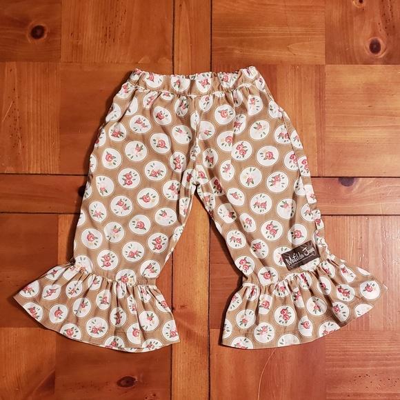 11b98101aa31 Matilda Jane Big Ruffle Rose Pants. M 5b269b18194dad92b9d38b70